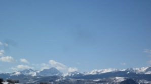 Mount Sopris & downvalley