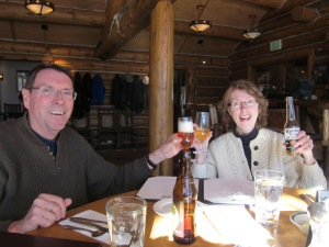 Fran and Rick @ Pine Creek Cookhouse