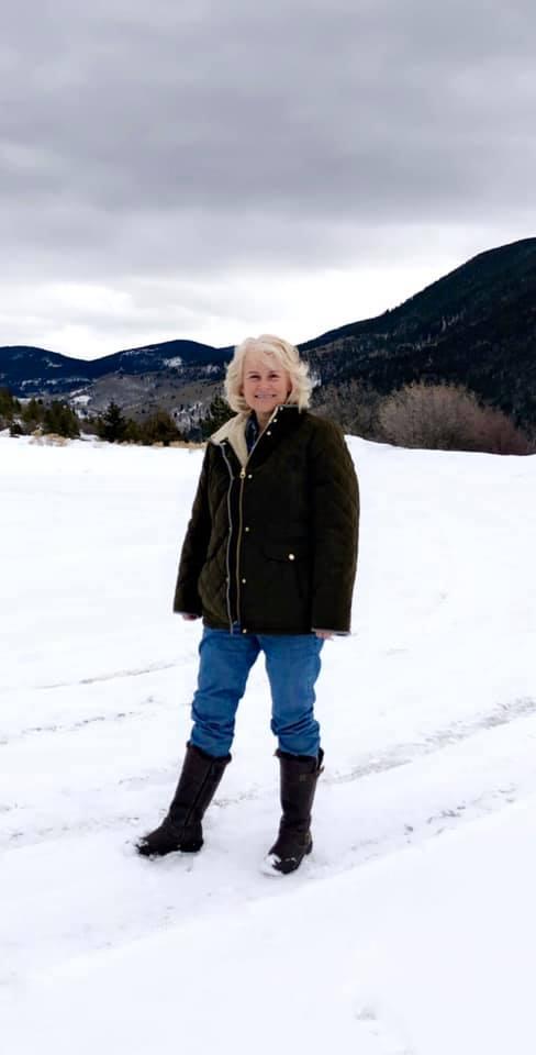 Linda in February